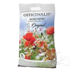 Officinalis bagno natura, lettiera agglomerante naturale per gatto original