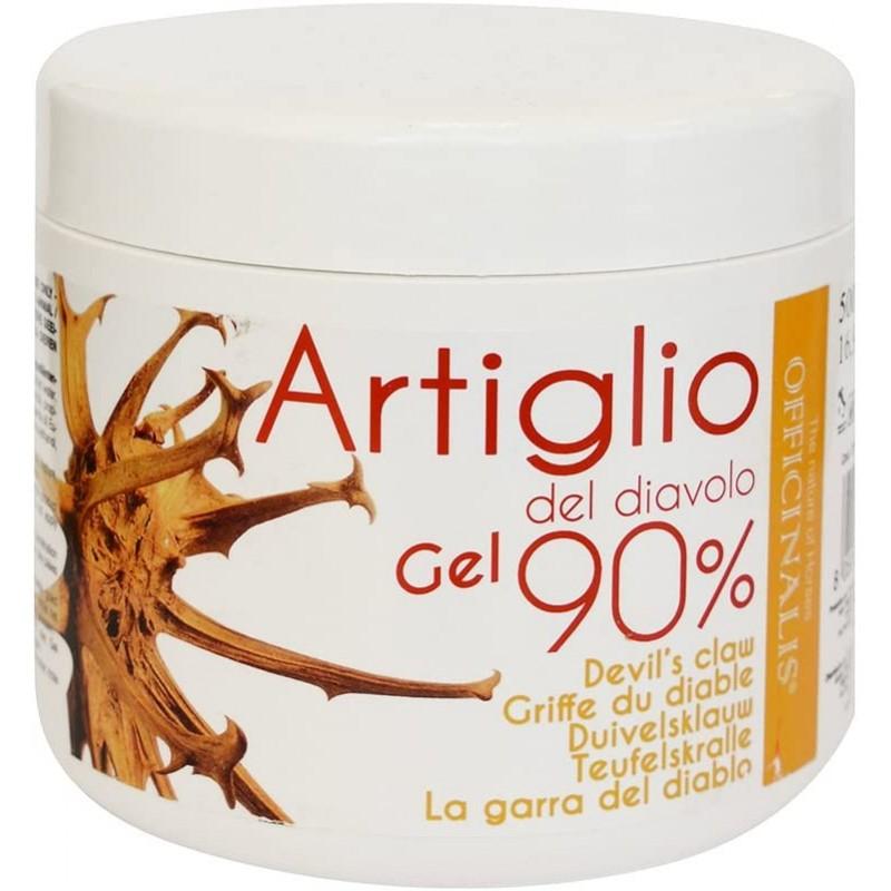 Officinalis Artiglio del Diavolo Gel 90 % contro traumi distorsioni antinfiammatorio Cavalli, 500ml